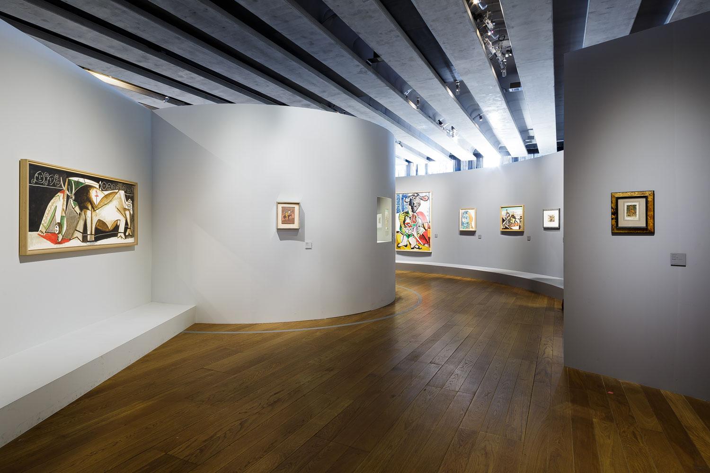 Scénographie exposition Picasso Mucem