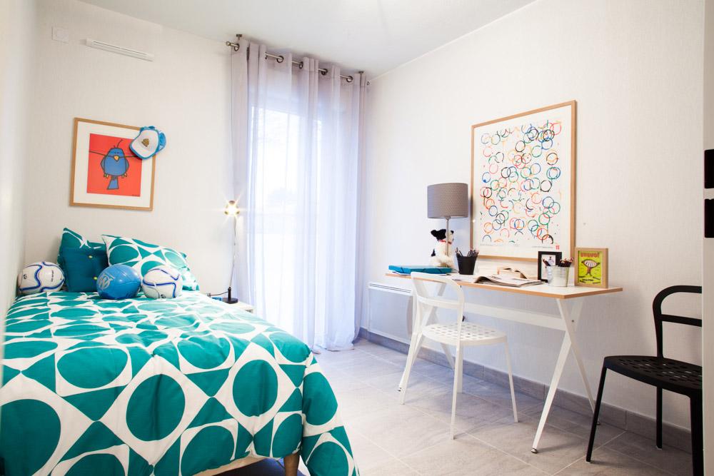 Photos d 39 un appartement r alis par kaufman broad for Modele maison kaufman broad