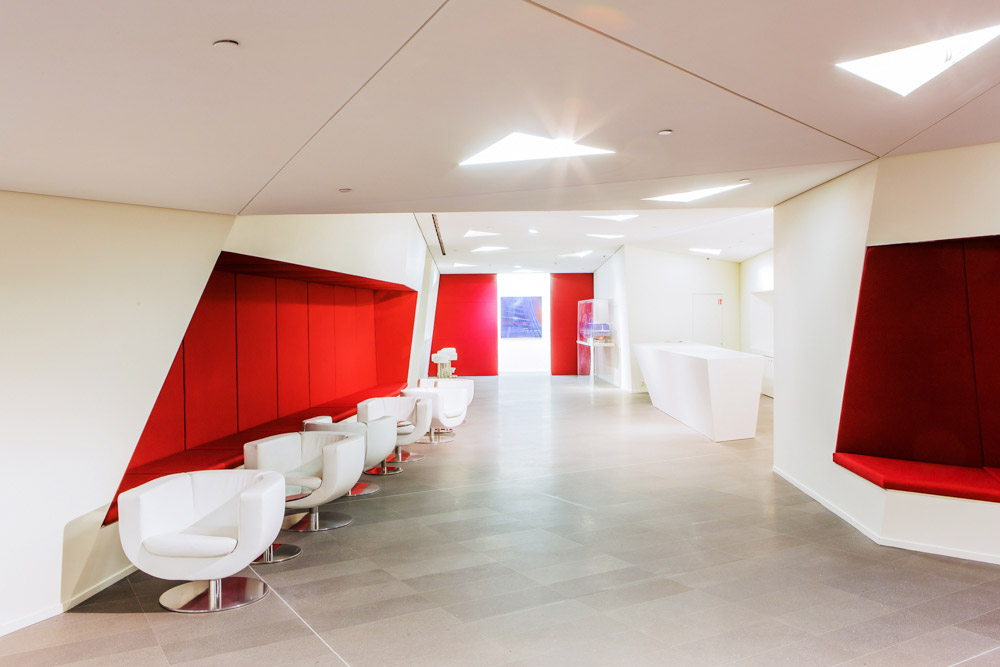 Couloir tour CMA-CGM