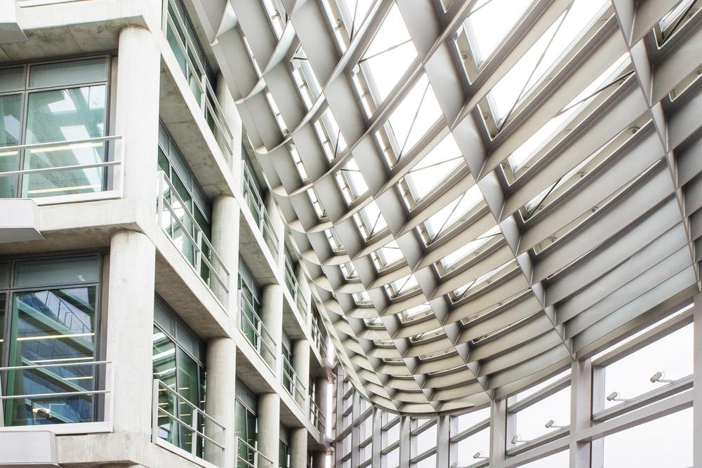 Détail intérieur siège CMA-CGM