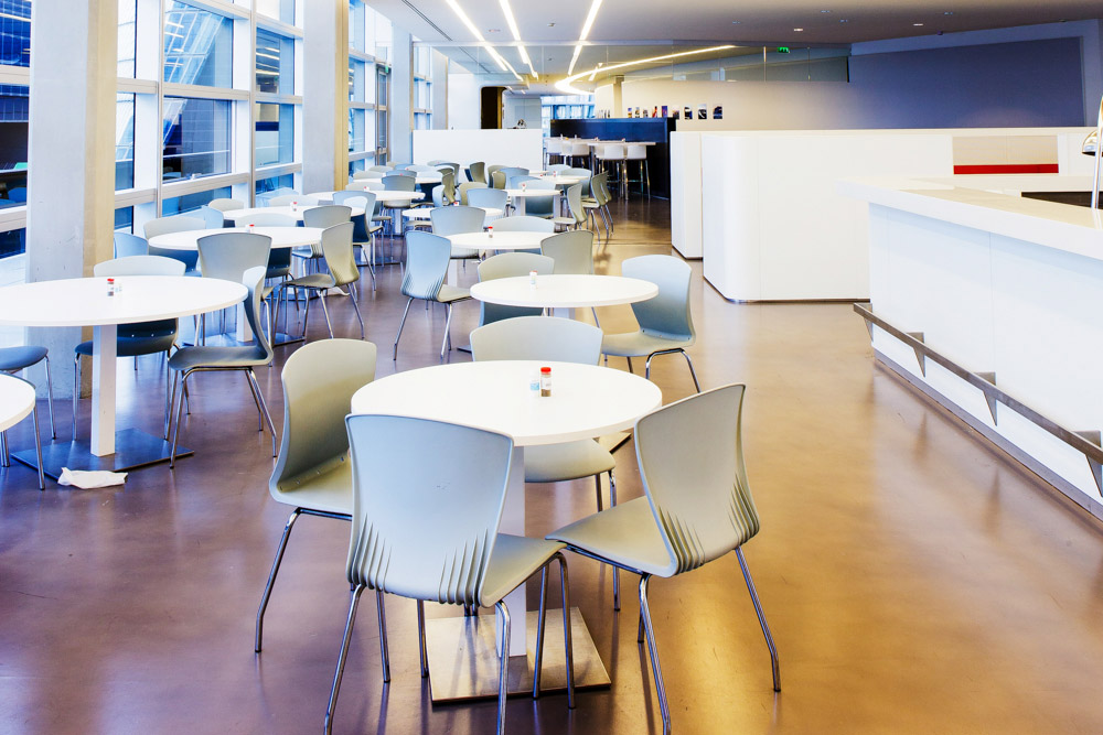 Restaurant siège CMA-CGM