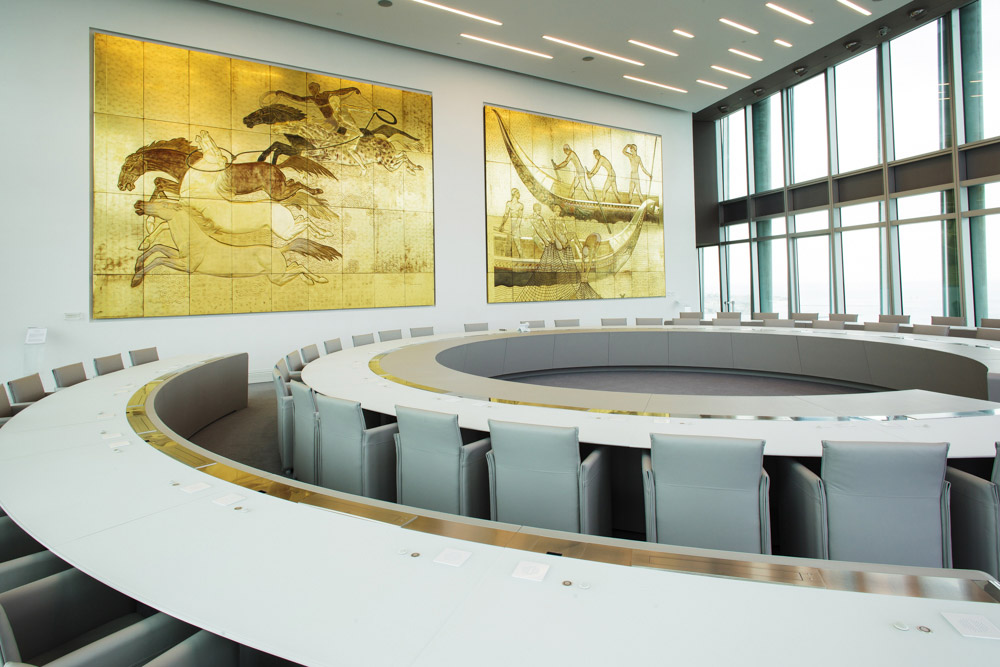 Salle de réunion siège CMA-CGM