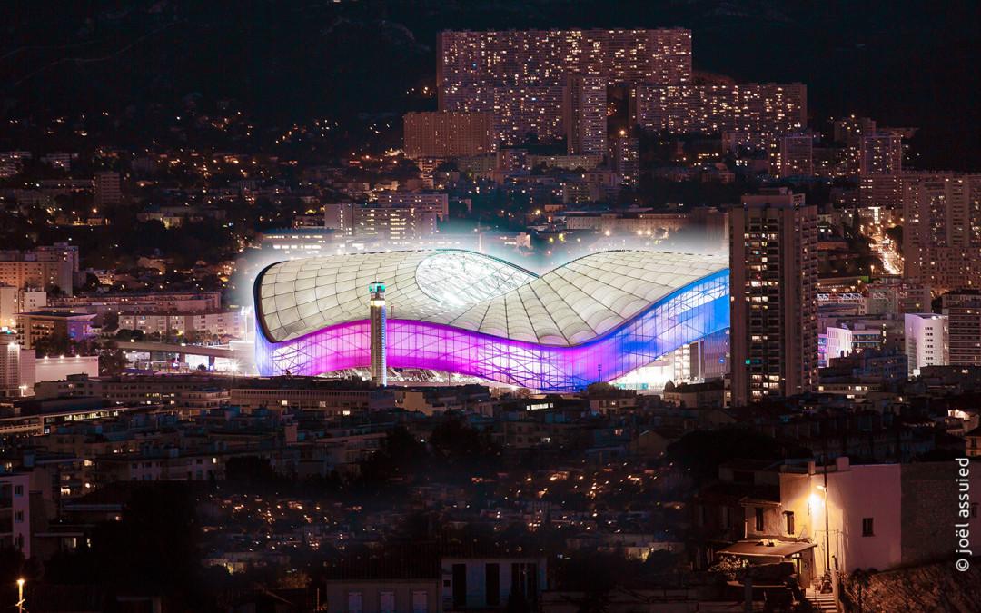 Quand le Stade Vélodrome se pare de ses belles couleurs