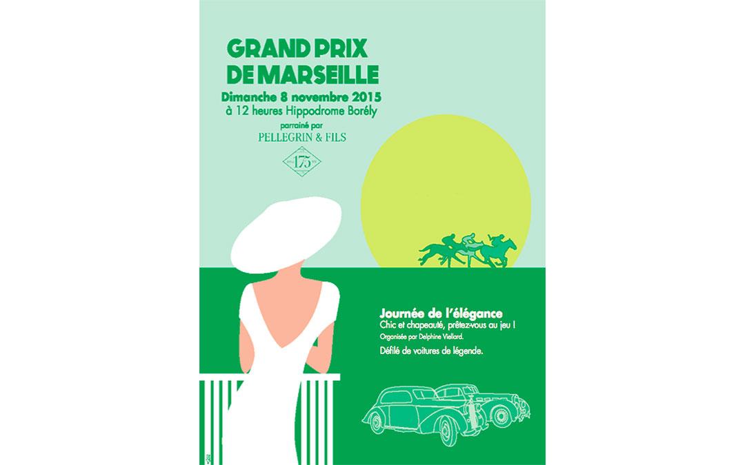 Journée de l'élégance au Grand Prix de Marseille 2015